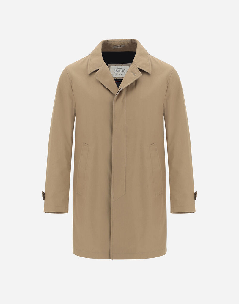 CARCOAT DELON WITH MONOGRAM DETAILS Herno