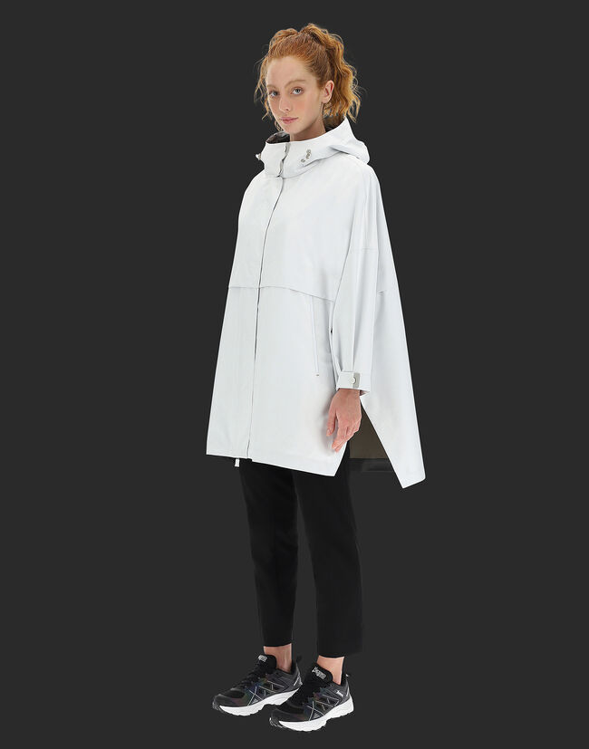 LAMINAR 2LAYER GORE-TEX OVERSIZE JACKET WITH SIDE SLITS Herno 1
