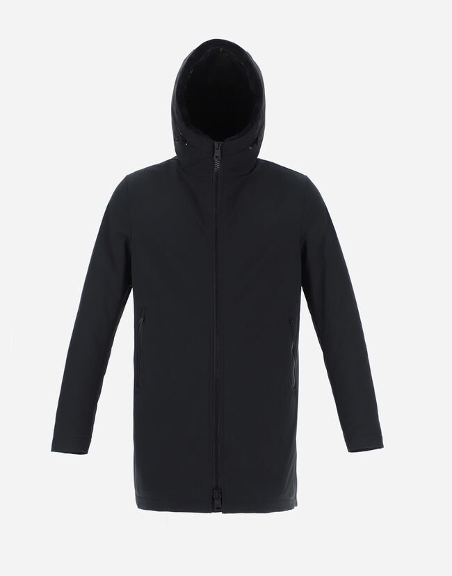 KEYSTONE PARKA WITH SYNTHETIC FABRIC LINING Herno 1