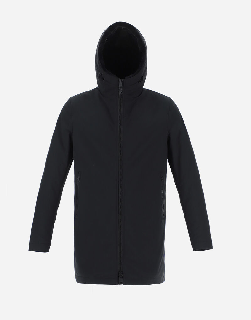 KEYSTONE PARKA WITH SYNTHETIC FABRIC LINING Herno