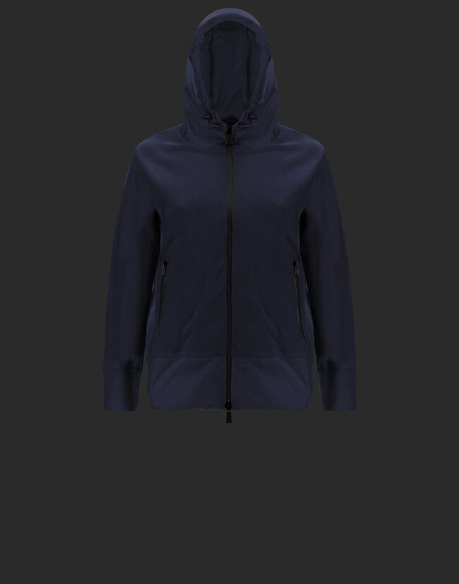 LAMINAR A-SHAPE IN TECHNO DOUBLE SWEATER WITH GORE-TEX 2LAYER Herno 1