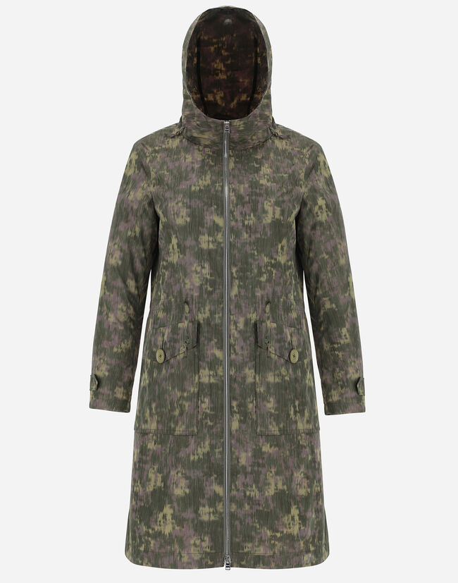 GLOBE RECYCLED CAMOUFLAGE PARKA Herno 1