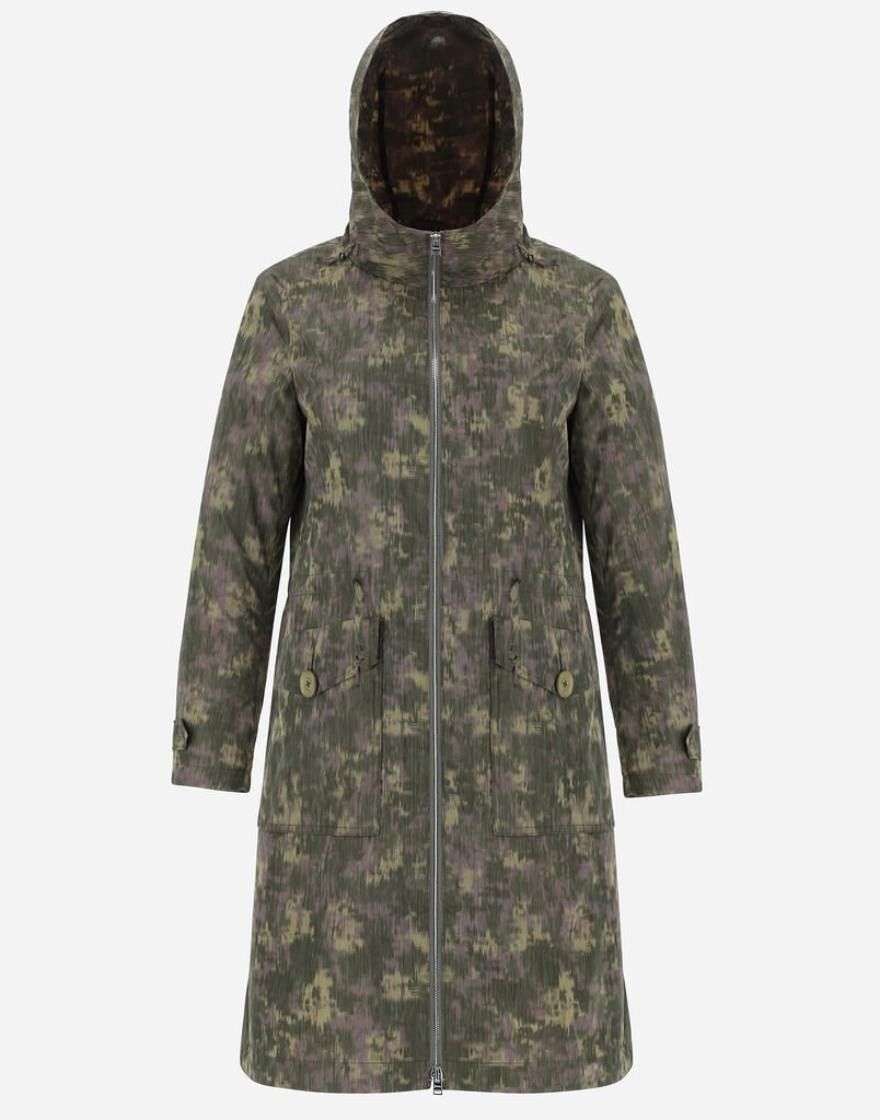 GLOBE RECYCLED CAMOUFLAGE PARKA Herno