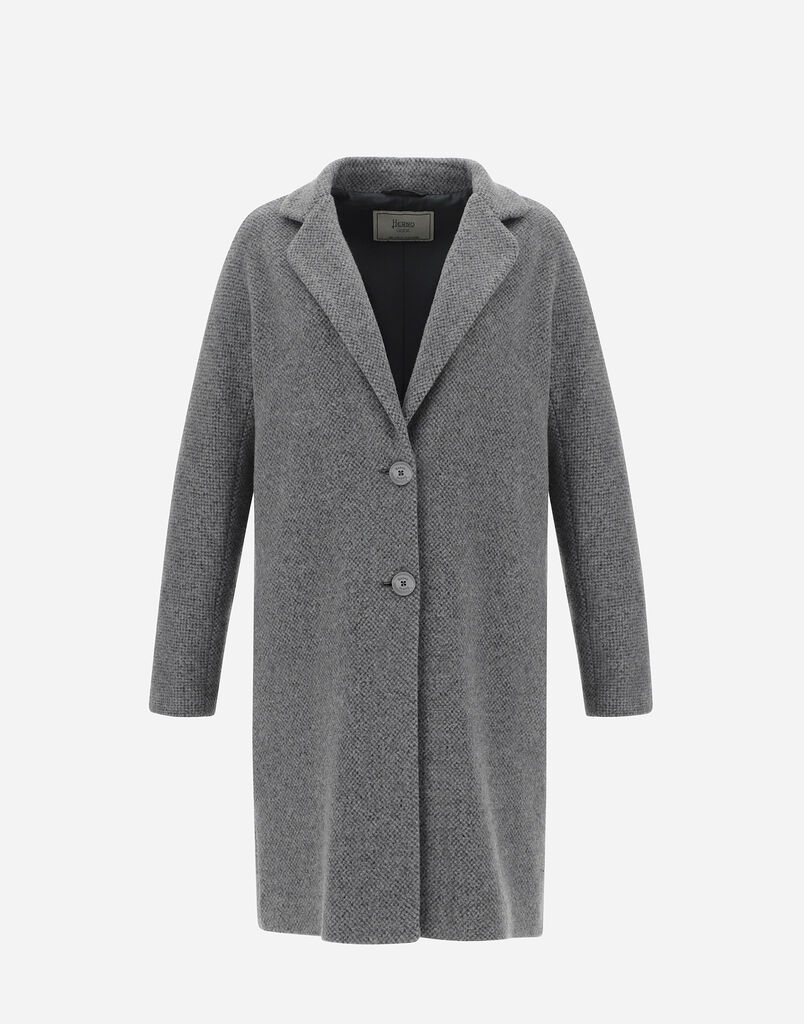 RECYCLED WOOL COAT Herno