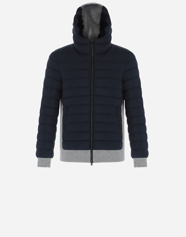 NUAGE BOMBER WITH FLEECE Herno 1