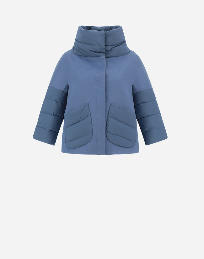 CASHMERE DOWN JACKET WITH NUAGE Herno 1