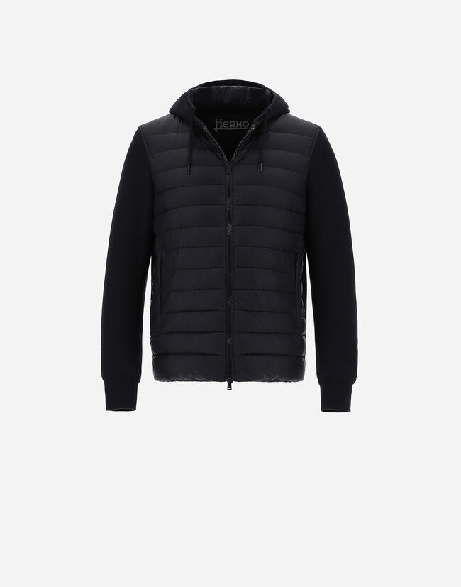 ULTRALIGHT HOODED BOMBER Herno 1