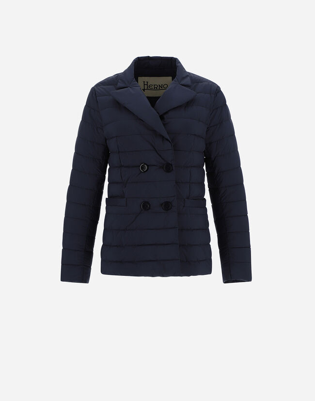 DOUBLE-BREASTED NUAGE BLAZER Herno 1