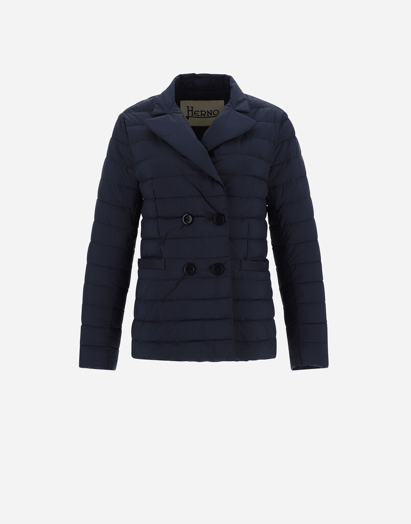 DOUBLE-BREASTED NUAGE BLAZER Herno